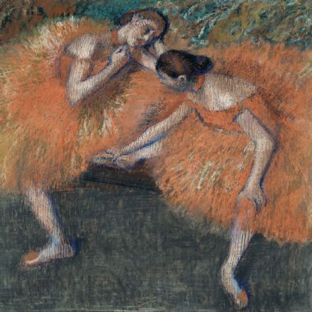 Degas, Edgar: Two Dancers. Fine Art Print/Poster. (003774)